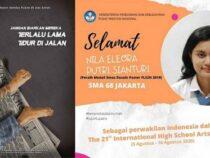 Poster Karya Siswi Indonesia Sabet Emas di Jepang 21st International High Schools Arts Festival 2020