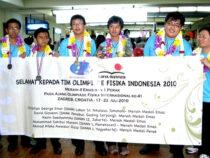 Pelajar Indonesia Raih 4 Emas di Olimpiade Fisika Internasional (IPhO) Ke-41 di Zagreb, Kroasia 2010